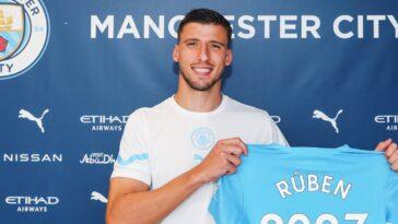 Rúben Dias a signé un nouveau bail longue durée avec City (Twitter Manchester City)
