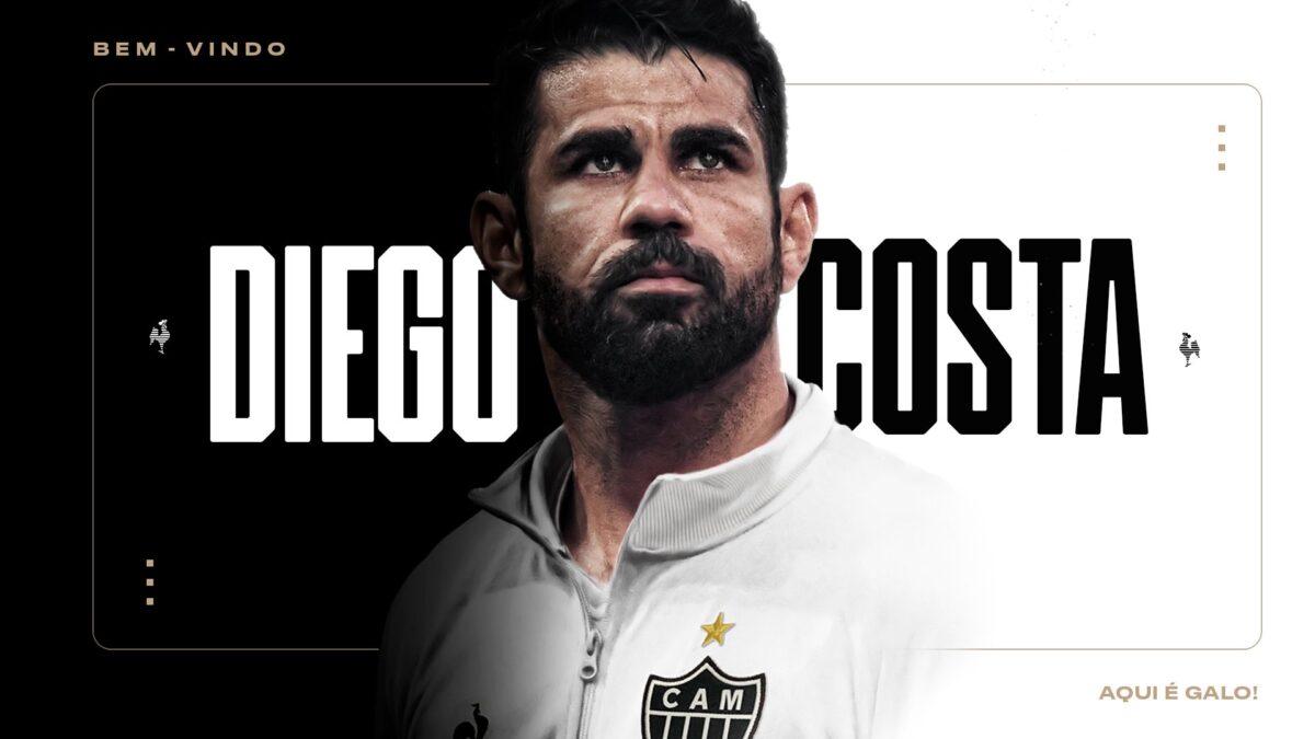 Diego Costa a signé à l'Atlético Mineiro. @Atlético Mineiro