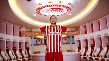 Rony Lopes a été prêté avec option d'achat à l'Olympiakos par le Séville FC. @Photo Olympiakos