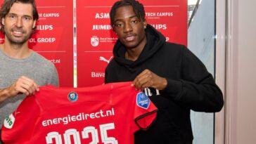 Madueke poursuit l'aventure au PSV ! (Twitter PSV)