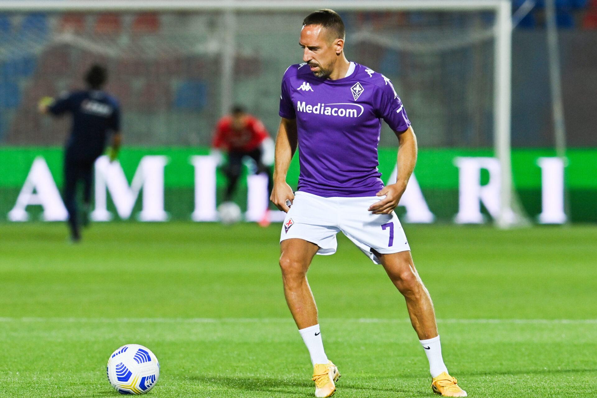 Franck Ribéry sous les couleurs de Fiorentina (Icon Sport)