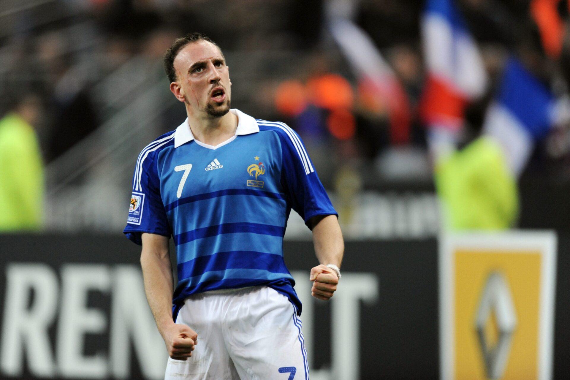 Franck Ribéry honorant son pays en jouant pour lui (Icon Sport)