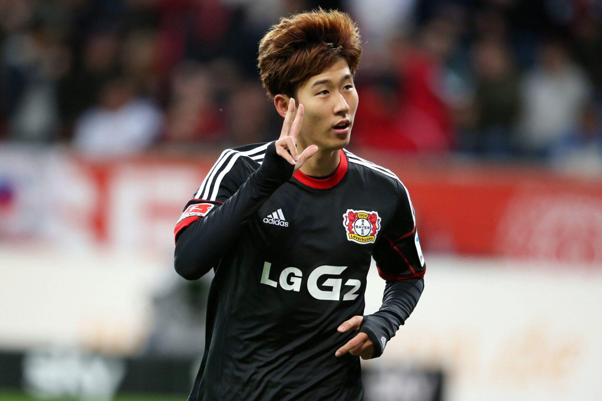 Son Heug-Min sous les couleurs de Bayer Leverkusen (Icon Sport)