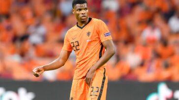 Le latéral droit néerlandais Denzel Dumfries s'engage jusqu'en 2025 avec l'Inter Milan. Icon Sport