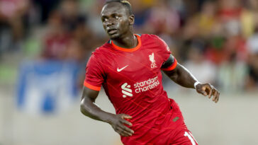 Sadio Mané s'investissant sur le terrain avec Liverpool (Icon Sport)