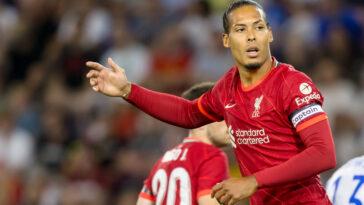 Virgil van Dijk a prolongé chez les Reds (iconsport)