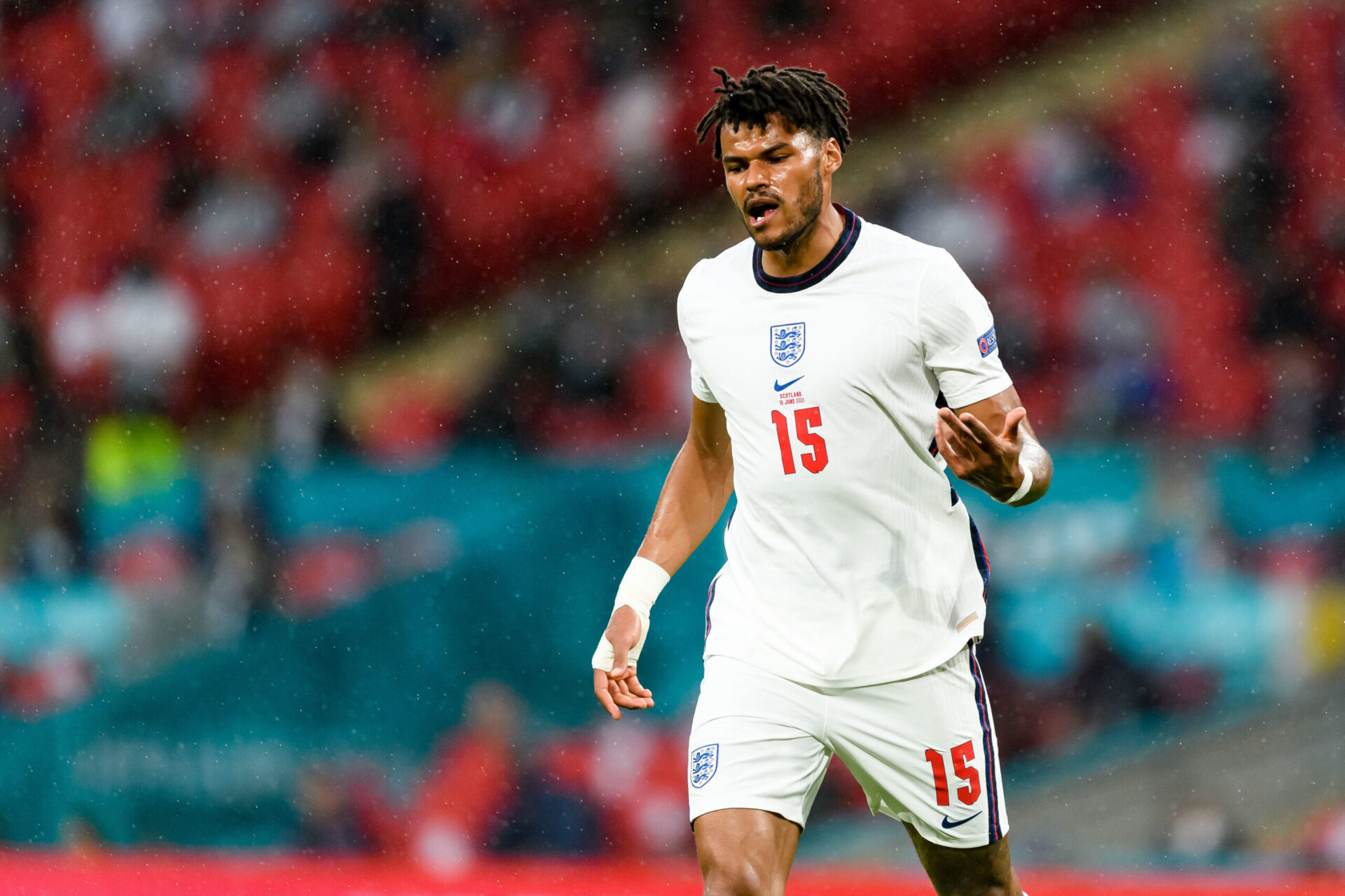 Tyrone Mings sous le maillot anglais (iconsport)