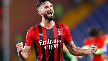 Premier match en Serie A et première victoire pour Olivier Giroud (IconSport)