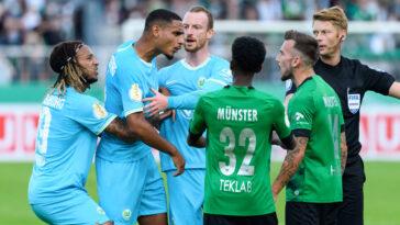 Wolfsburg a été disqualifié de la Coupe d'Allemagne après avoir réalisé un changement non autorisé. Icon Sport