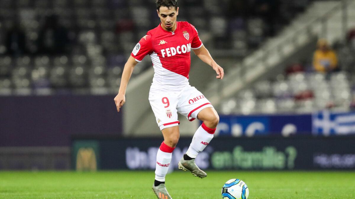 Wissam Ben Yedder jouant sous les couleurs monégasques (Icon Sport)