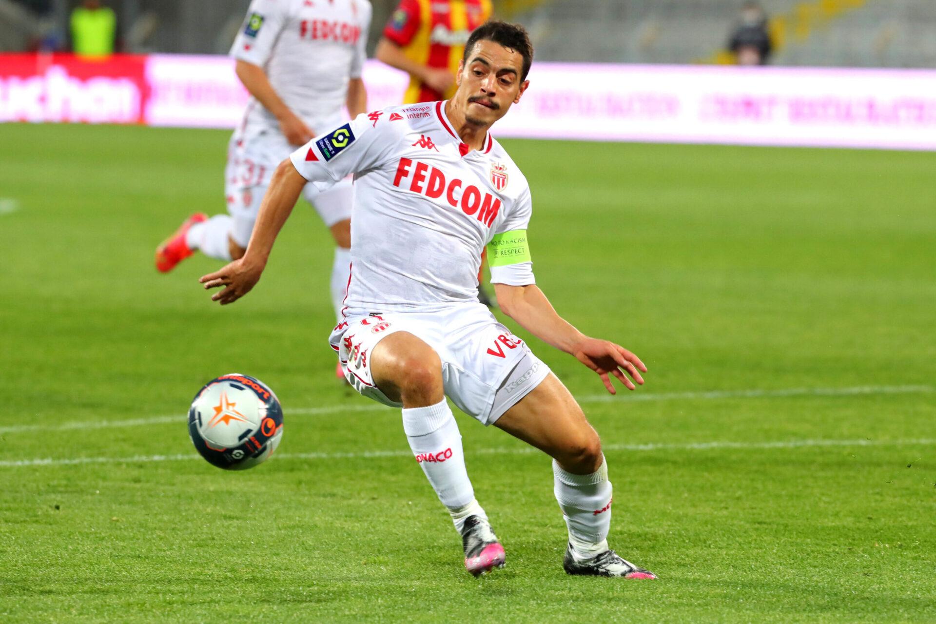 Wissam Ben Yedder jouant avec les Monégasques (Icon Sport)
