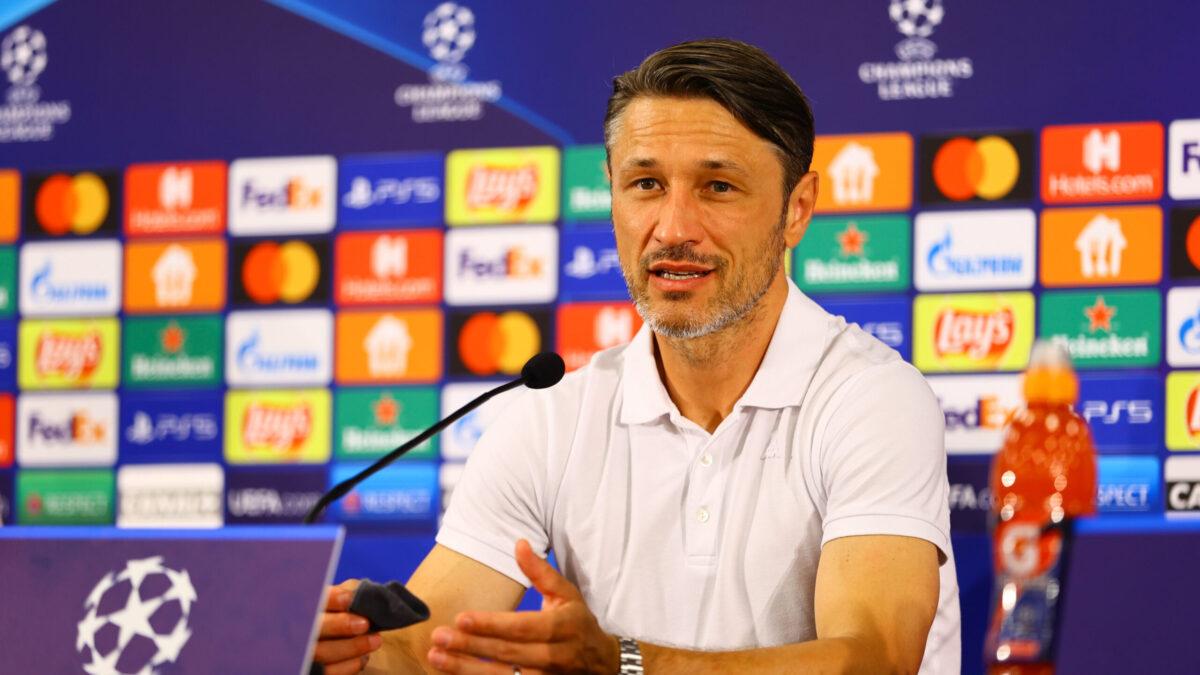 Niko Kovac en conférence de presse avant le match retour face au Shakhtar Donetsk (iconsport)