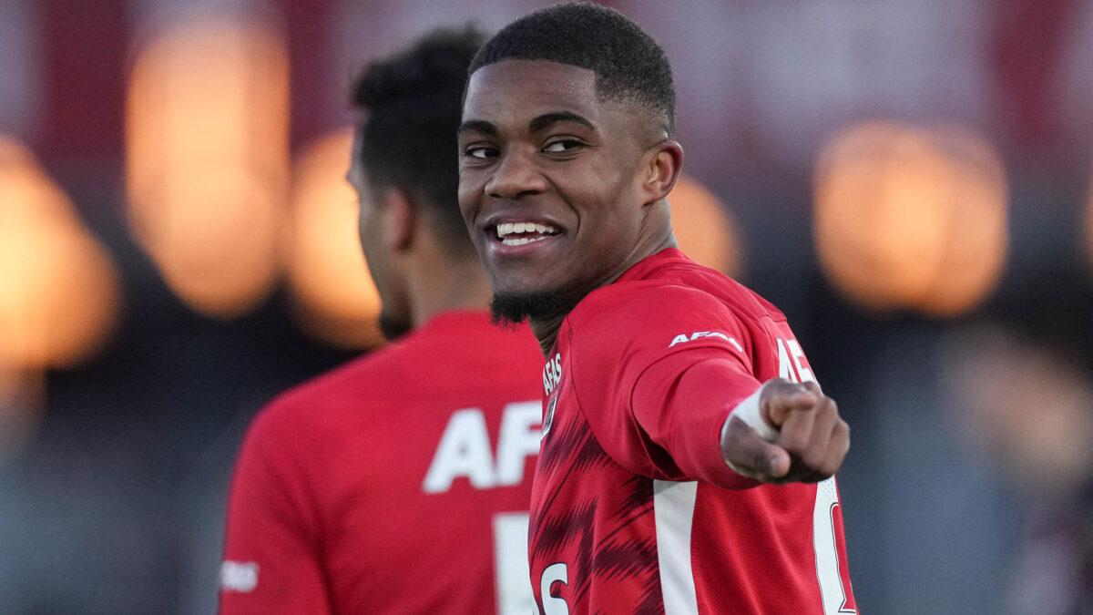 Myron Boadu va s'engager avec l'AS Monaco jusqu'en 2026. Icon Sport