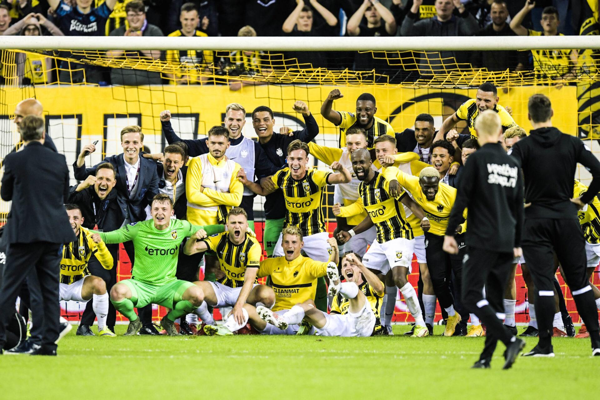 Vitesse Arnhem s'est qualifié grâce à sa quatrième place d'Eredivisie la saison dernière et un barrage remporté contre Anderlecht. Icon Sport