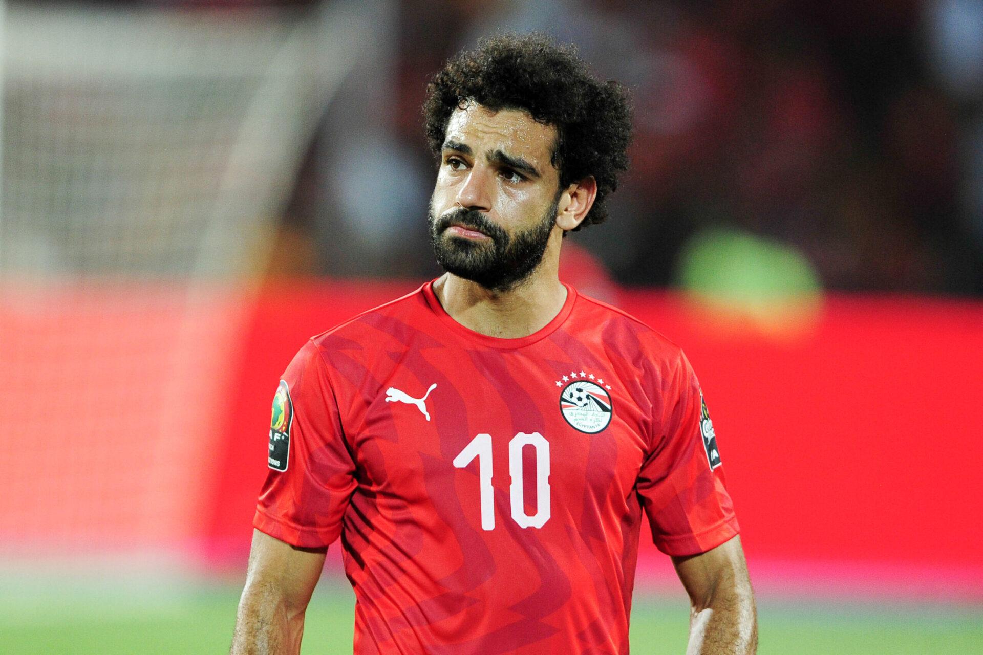 Mohamed Salah représentant son pays, l'Egypte (Icon Sport)