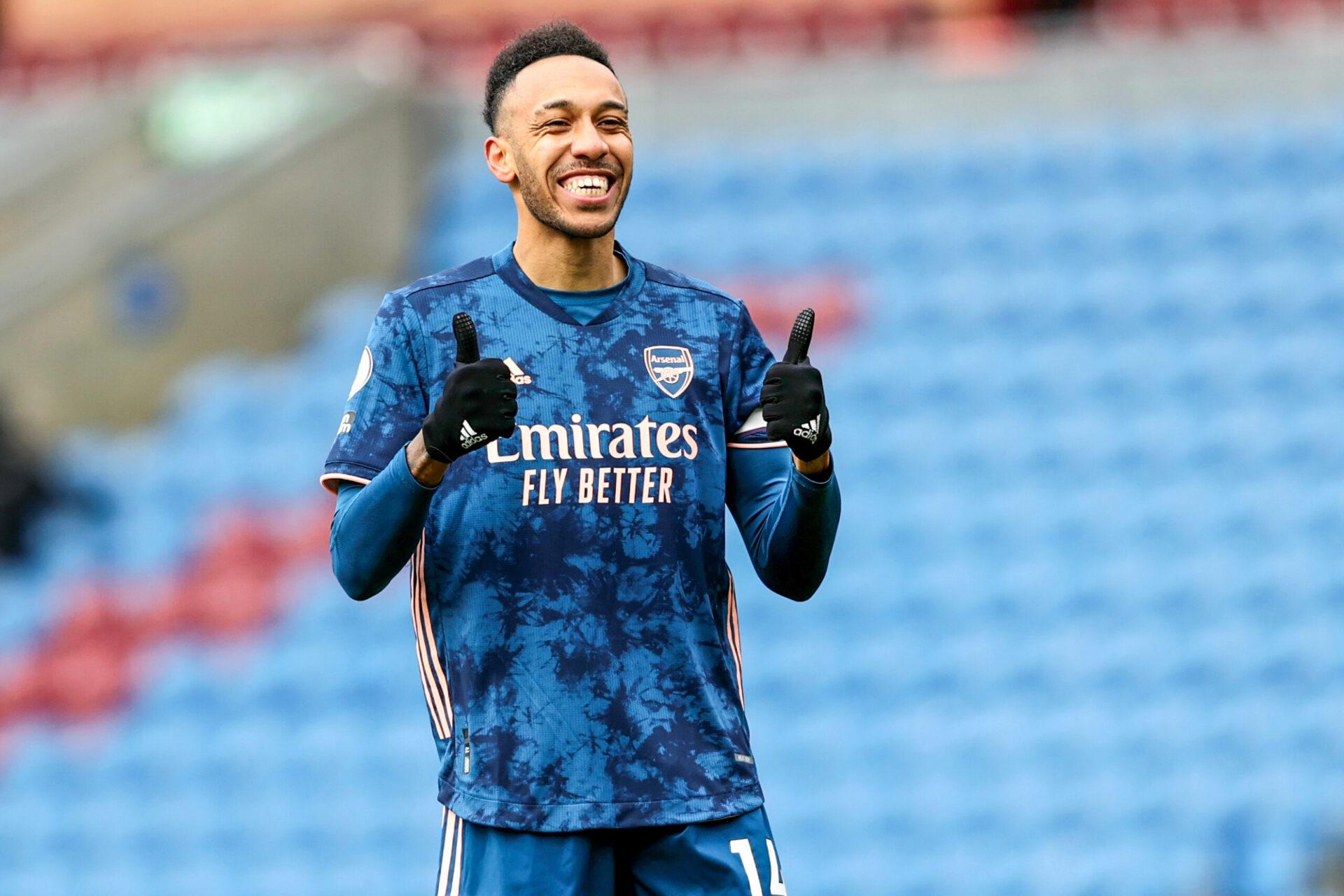 Aubameyang est heureux à Arsenal (iconsport)