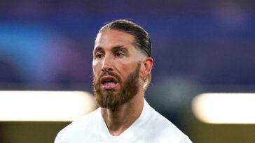 Sergio Ramos agacerait déjà au sein du PSG... Icon Sport