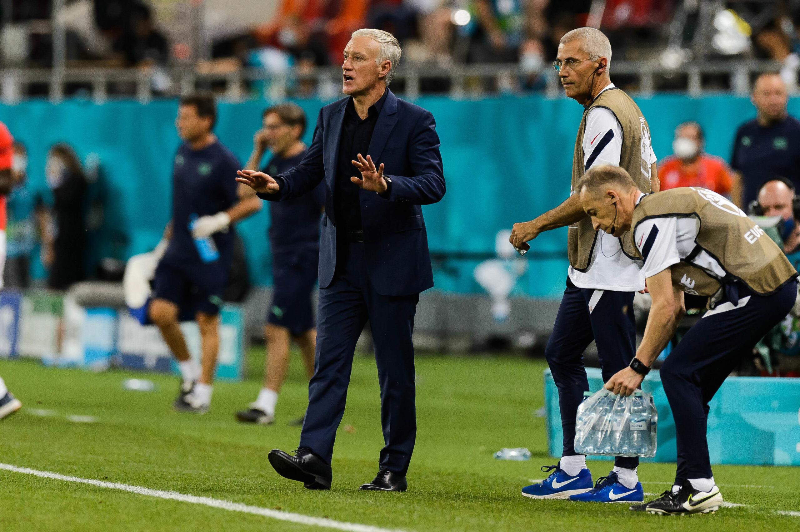 Didier Deschamps revient sur l'échec à l'Euro et s'en prend à Olivier Giroud ! (iconsport)
