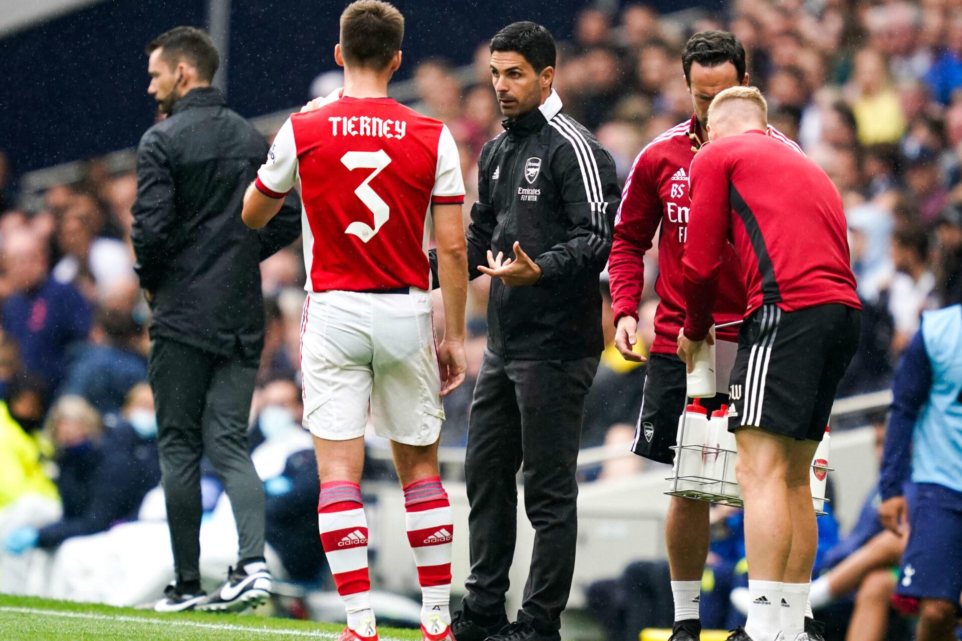 Arteta a cinq matchs pour remettre Arsenal sur le droit chemin (IconSport)