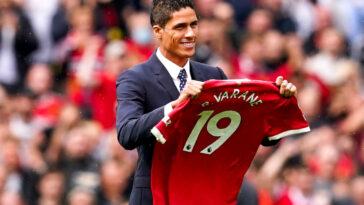 Raphaël Varane a officiellement signé son contrat à Manchester United. Icon Sport