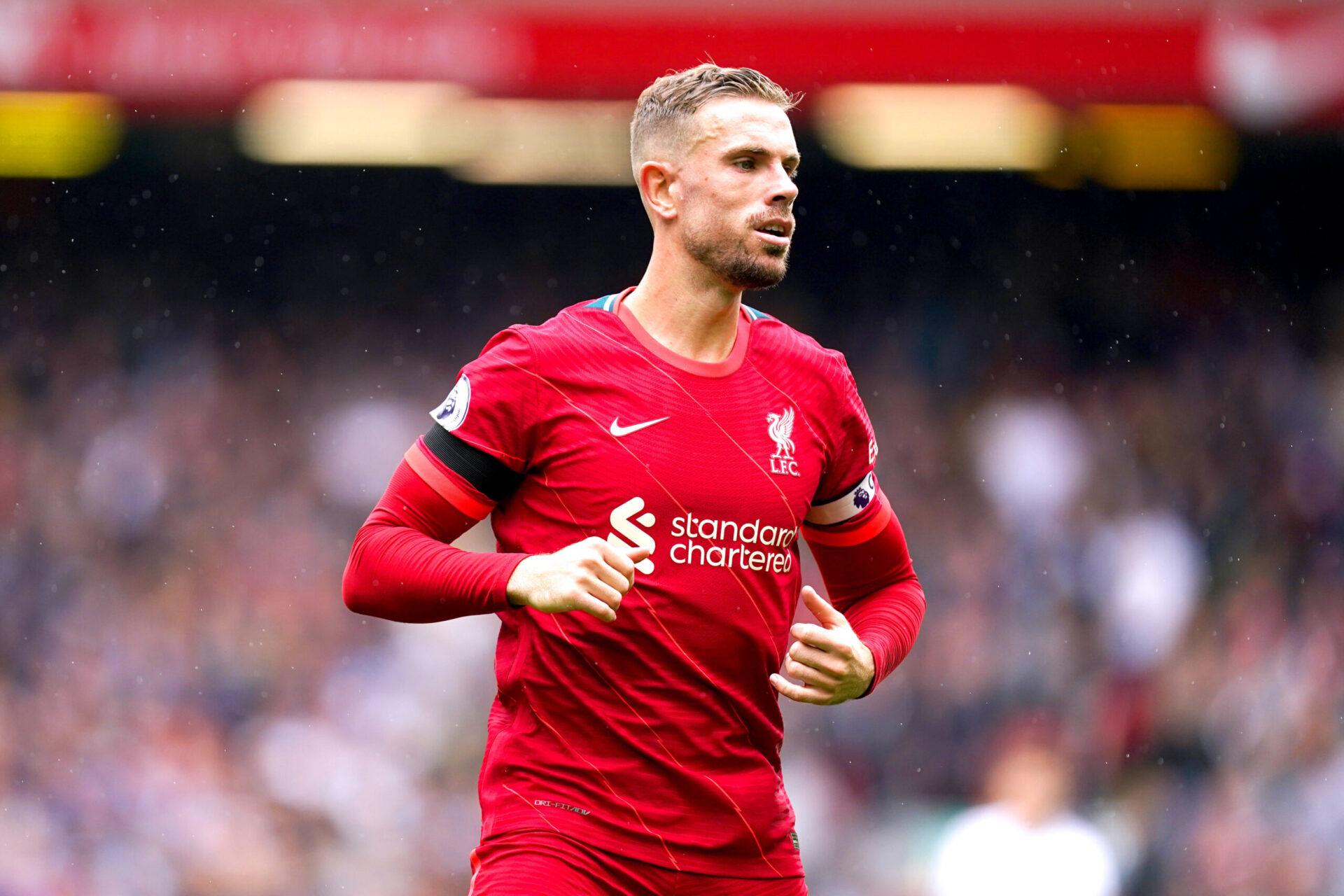 Jordan Henderson devrait être le prochain cadre de Liverpool à prolonger (iconsport)