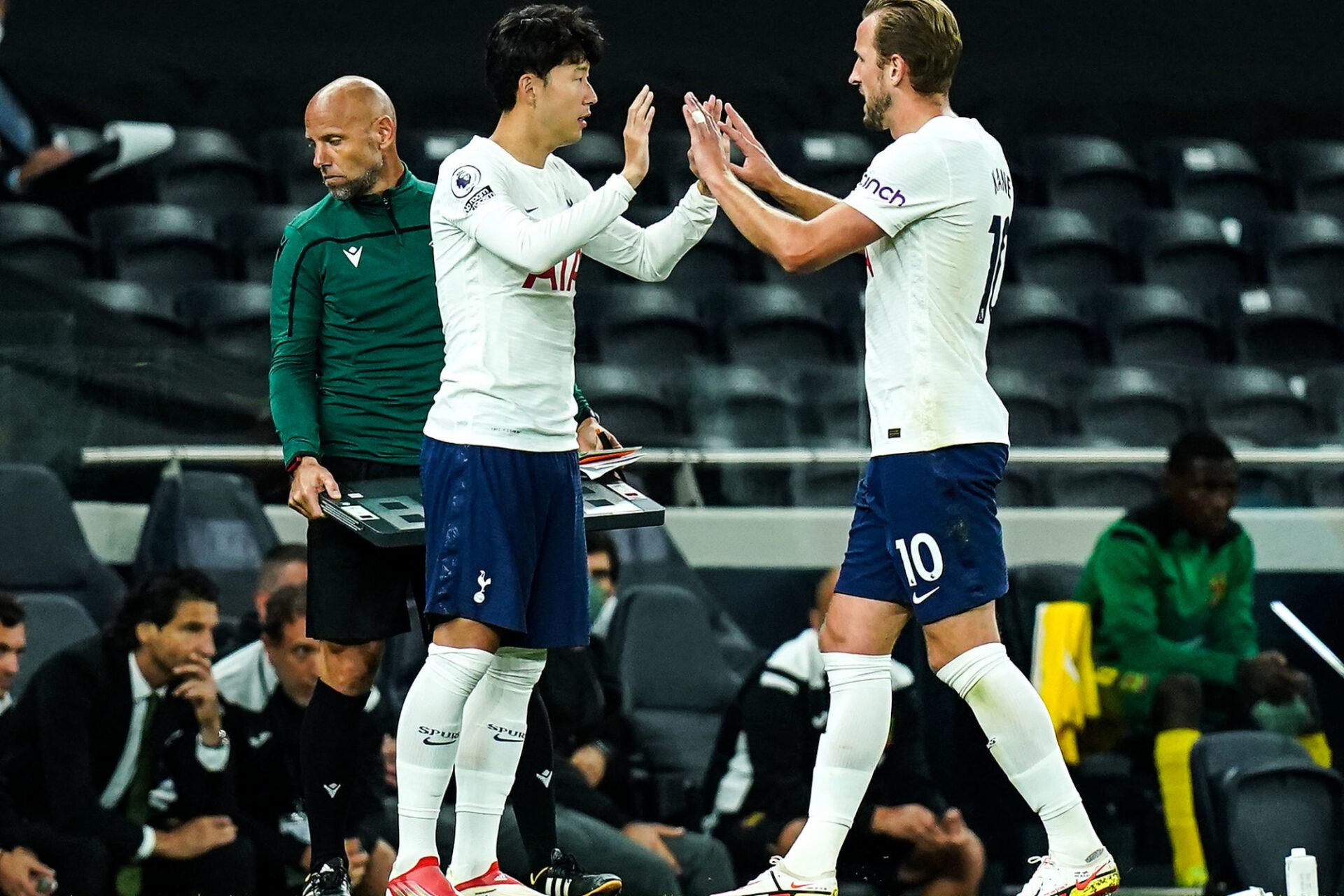 Rennes croisera la route d'Heung-min Son et Harry Kane face à Tottenham. Icon Sport