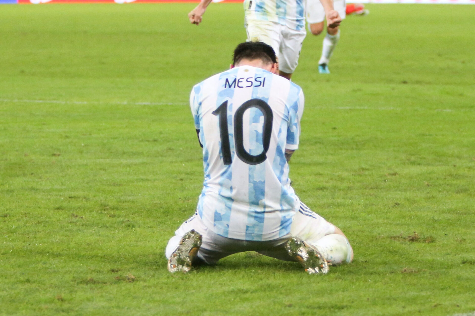 Vainqueur de la Copa América, Lionel Messi est proche de son septième Ballon d'Or. Icon Sport