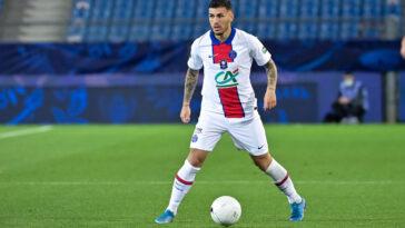 Leandro Paredes jouant au PSG (Icon Sport)