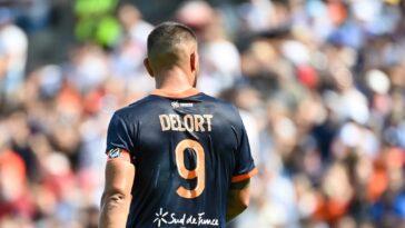 Andy Delort veut quitter Montpellier cet été (iconsport)