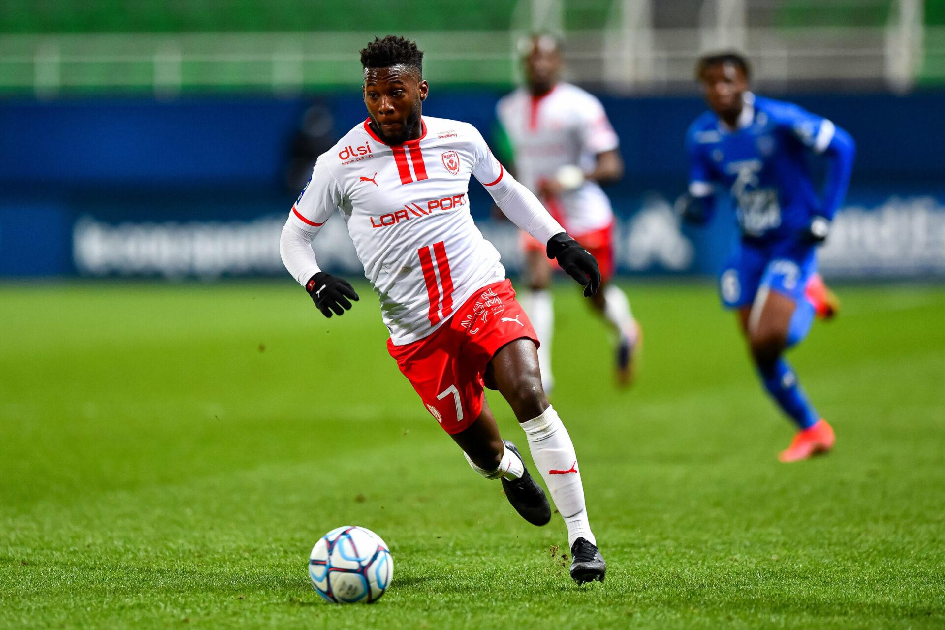Vendu par Nancy à Ostende contre plusieurs millions d'euros, Mickaël Biron a ensuite été prêté dans la foulée par le club belge à... Nancy (iconsport)