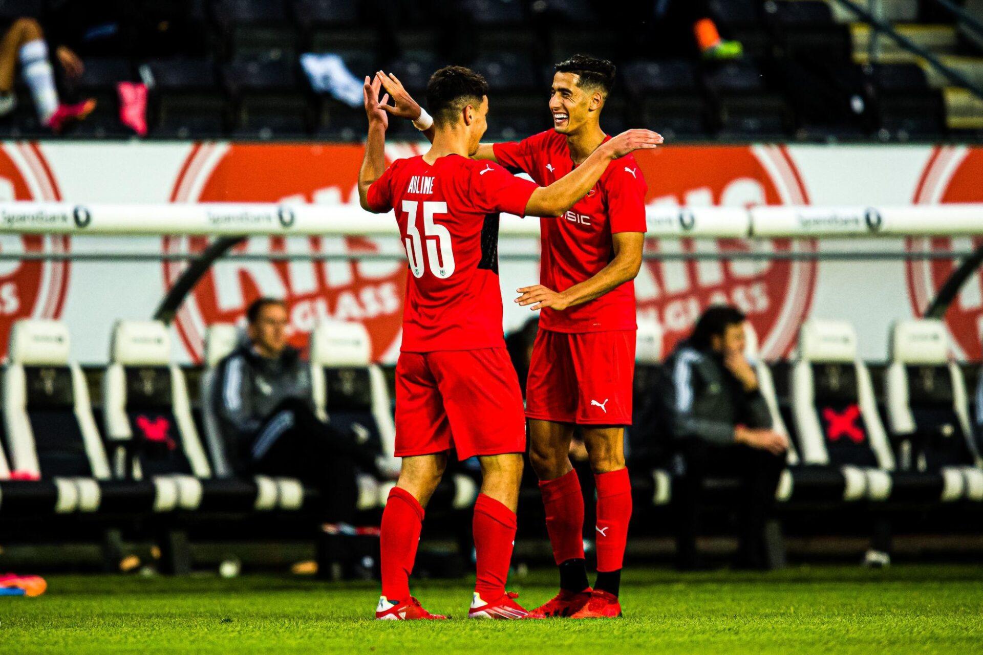Rennes a écarté Rosenborg en barrage de qualification de la Ligue Europa Conférence. Icon Sport