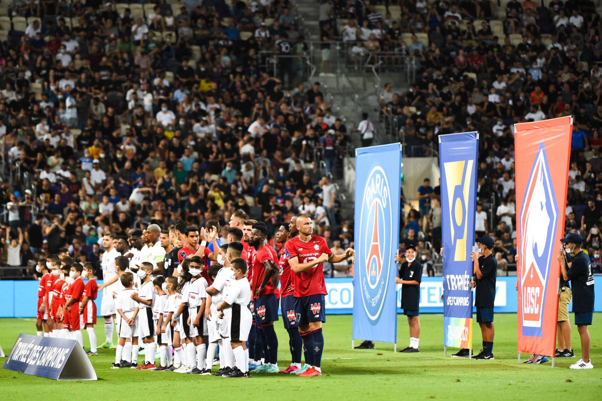 Le LOSC peut remporter le 1er Trophée des Champions de son histoire, le PSG son 11e (iconsport)