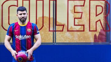 Sergio Agüero sous ses nouvelles couleurs (Icon Sport)