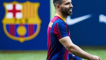 Barça : Sergio Aguero absent jusqu'en novembre (Photo by Icon Sport)