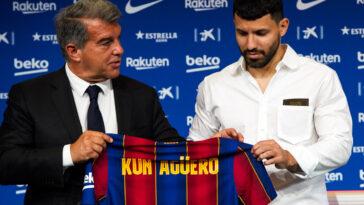 Annoncé sur le départ, le Kun Agüero devrait bel et bien rester au FC Barcelone. Icon Sport