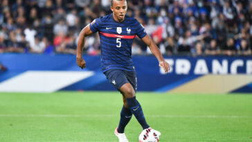 Jules Koundé, le défenseur des Bleus. Icon Sport