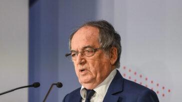 Noël Le Graët a commenté les incidents de Nice-OM, survenus dimanche 22 août en Ligue 1. Icon Sport