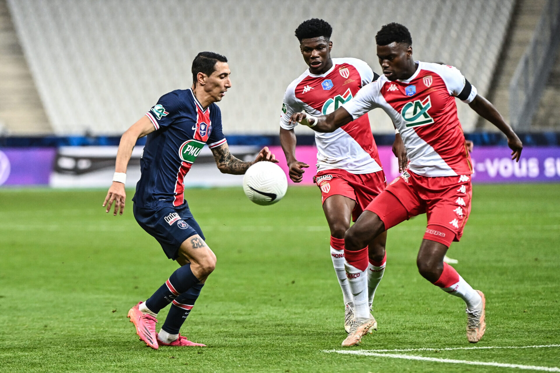 L'AS Monaco avait terminé troisième de Ligue à seulement 4 points du PSG et 5 points du LOSC (iconsport)