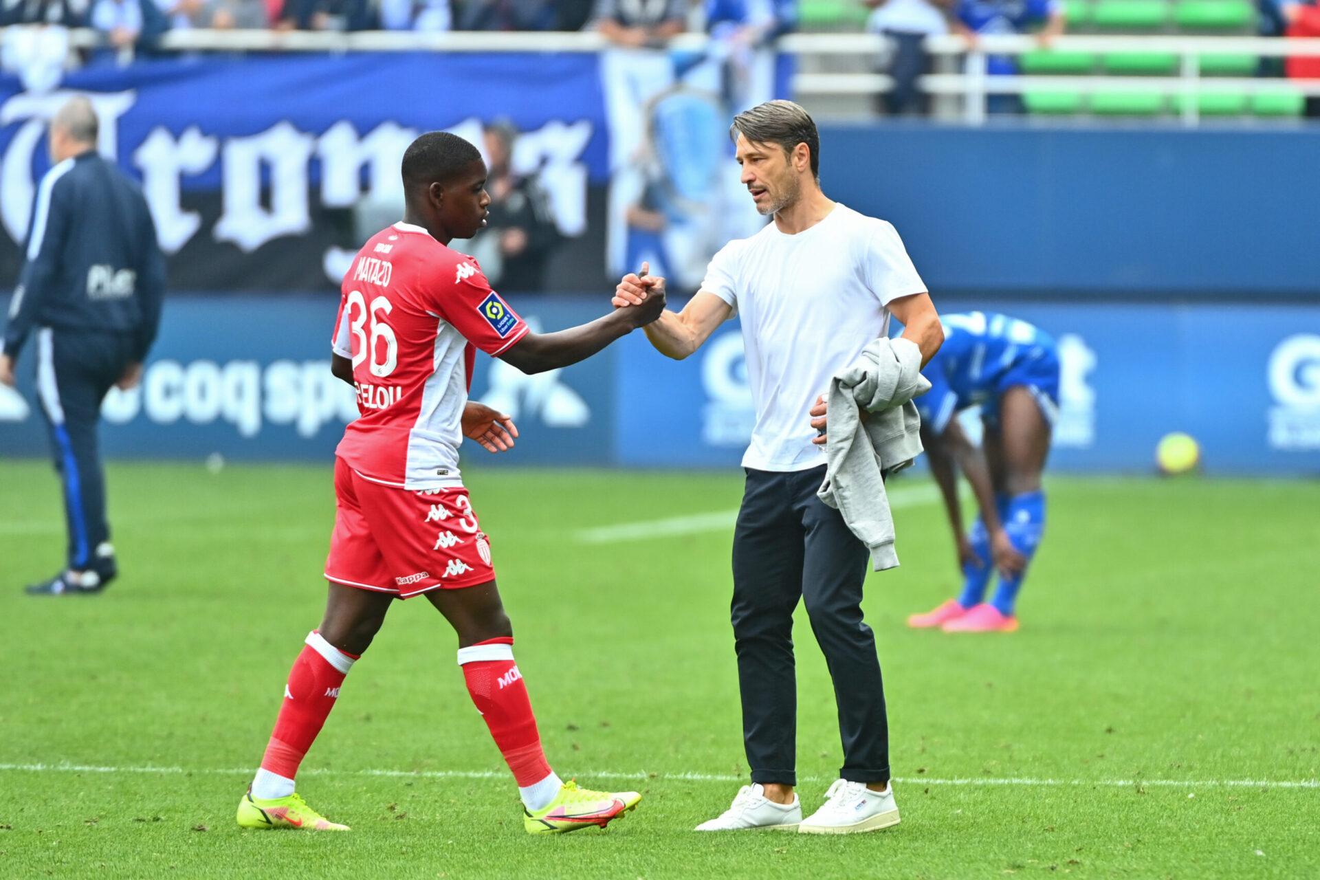 La satisfaction de Niko Kovac après la rencontre face à Troyes (iconsport)