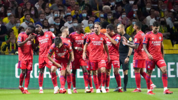 L'OL a obtenu sa première victoire de la saison en Ligue 1 contre Nantes. Icon Sport