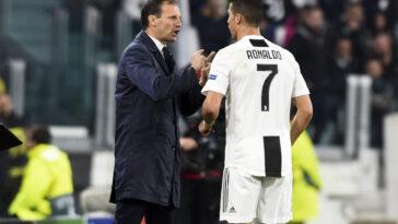 Massimiliano Allegri s'exprime sur le départ de Cristiano Ronaldo (iconsport)