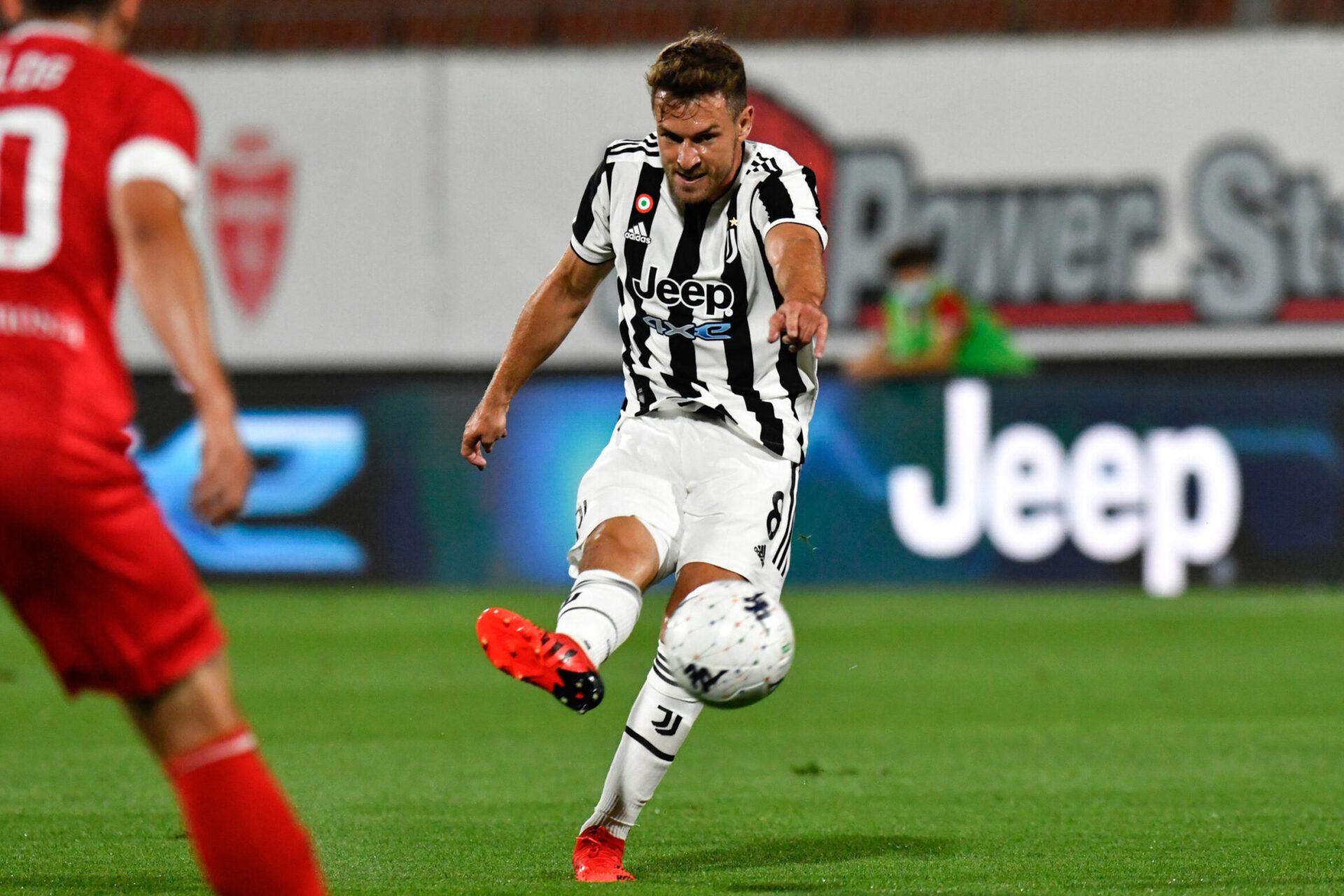 Arrivé à la Juventus en 2019, Aarson Ramsey est dans les petits papiers de Newcastle et Tottenham (iconsport)