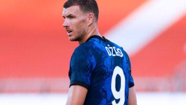 Edin Džeko s'est engagé avec l'Inter Milan jusqu'en 2023. Icon Sport
