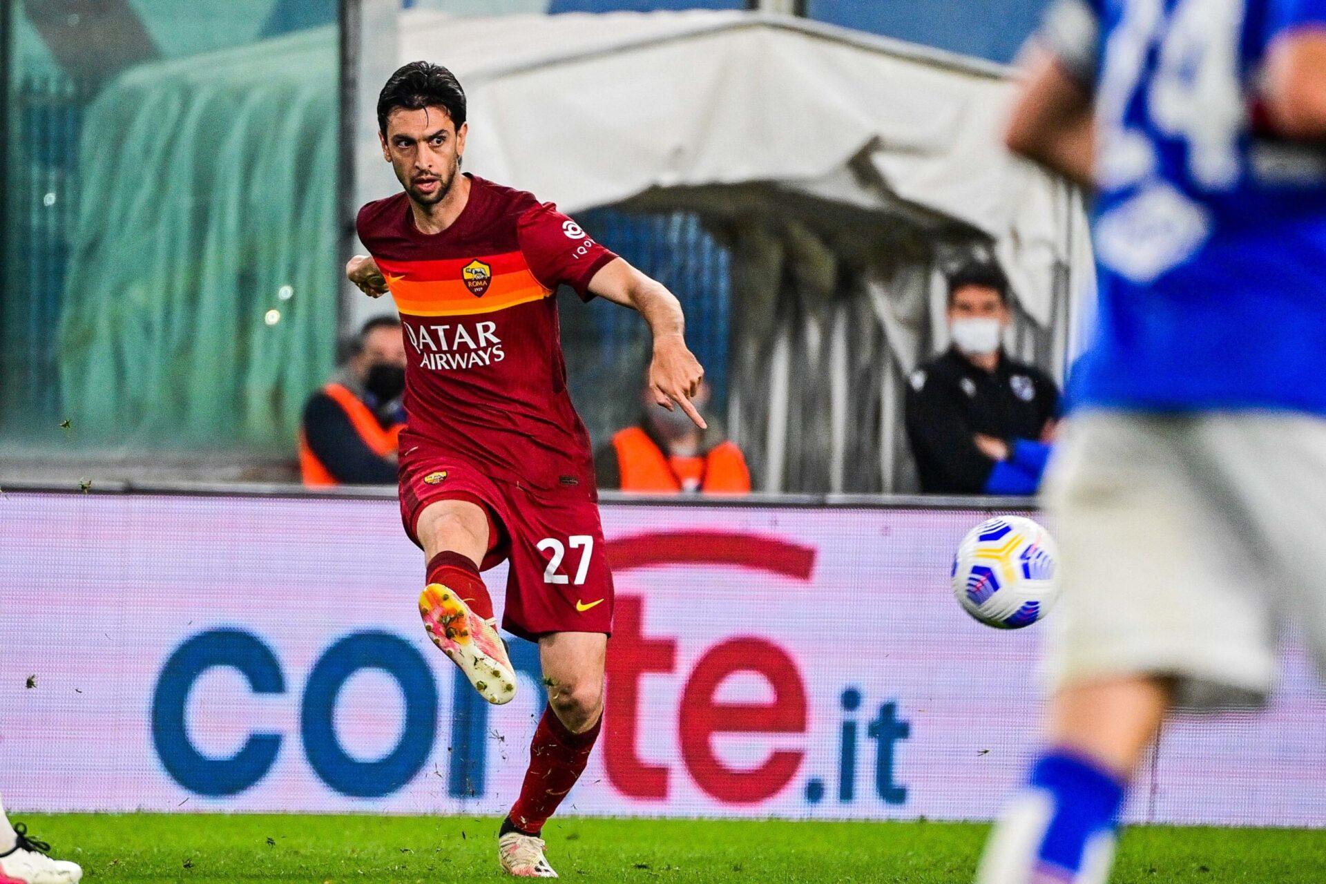 Javier Pastore sous le maillot de l'AS Roma (IconSport)