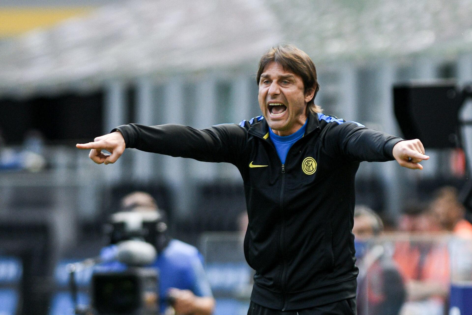 Antonio Conte est cité comme le potentiel remplaçant de Mikel Arteta à Arsenal. Icon Sport