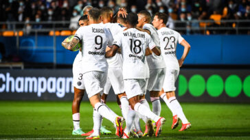Le PSG s'est imposé face à Troyes ce samedi soir (iconsport)