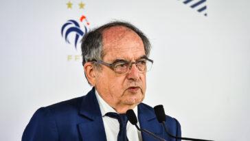 Noël Le Graët n'a pas eu une déclaration très heureuse à propos de l'équipe de France Espoirs. Icon Sport
