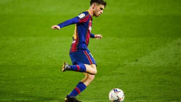 Pedri Gonzalez sous le maillot du Barça (Icon Sport)
