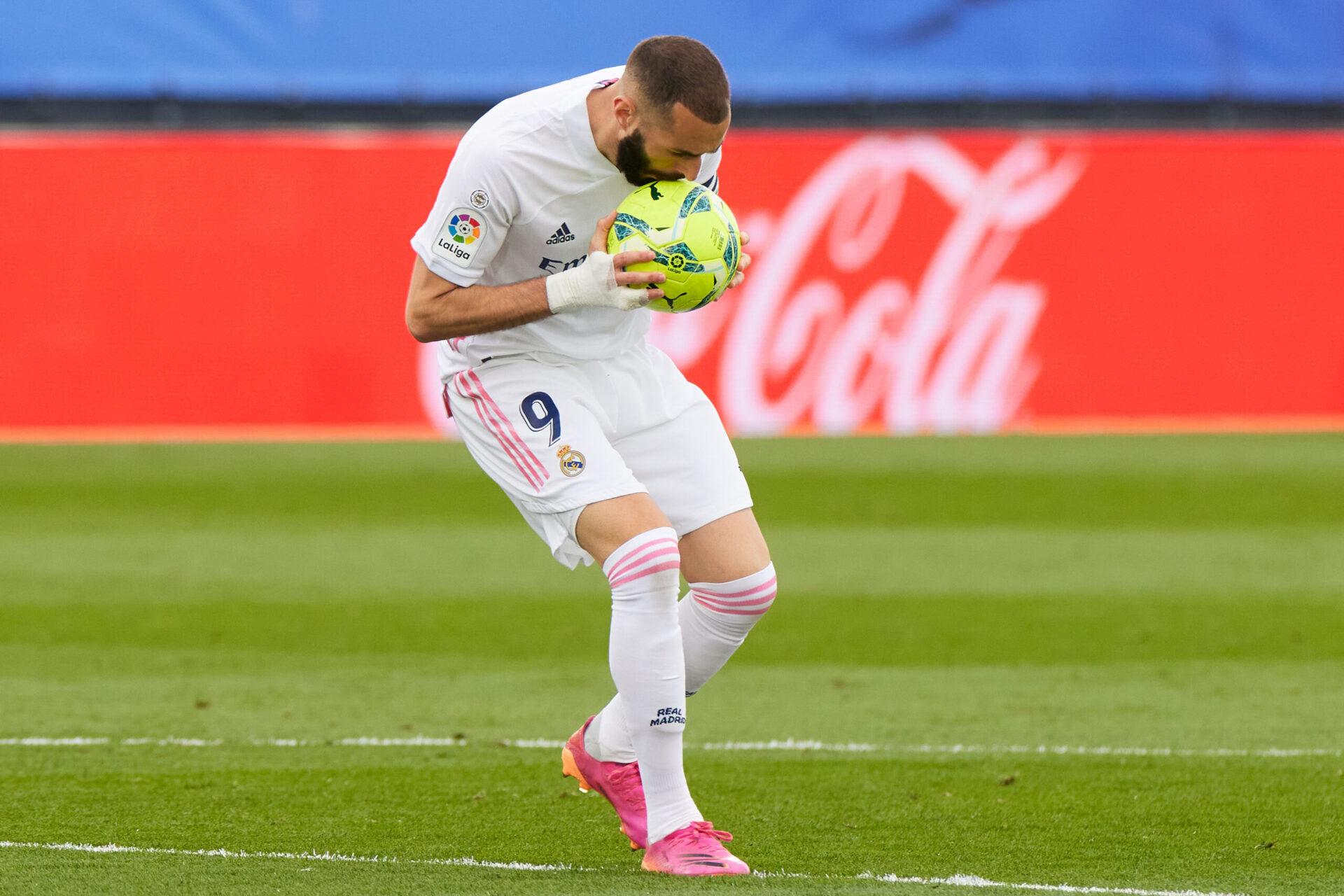 Benzema sera le leader du Real Madrid jusqu'en 2023, au moins. Icon Sport