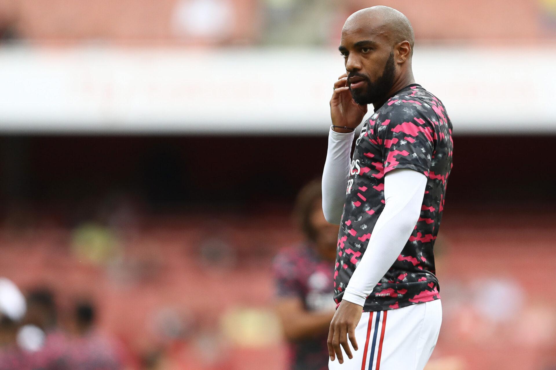 Arsenal voudrait toujours se débarrasser de Lacazette, mais ne lui a pas trouvé de porte de sortie pour le moment (iconsport)